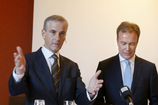 Norway opposition leader has nothing in common with Macron: Brende