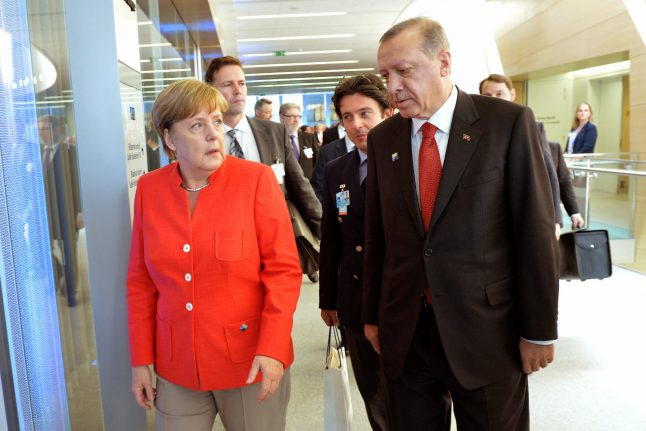 Erdogan accuses Germany of 'political suicide' after rally ban