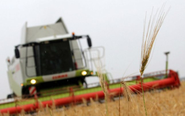 Man seriously injured by combine harvester after taking drunk nap in field