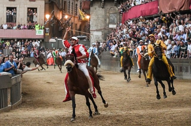 IN PICTURES: The Siena Palio, Italy's historic horse race