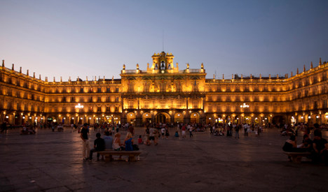 And the most beautiful plaza in Spain is...?