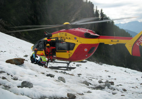 Human remains found on Mont Blanc may belong to Air India victims