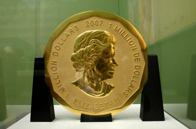 Museum guard among four arrested over stolen €1 million gold coin in Berlin