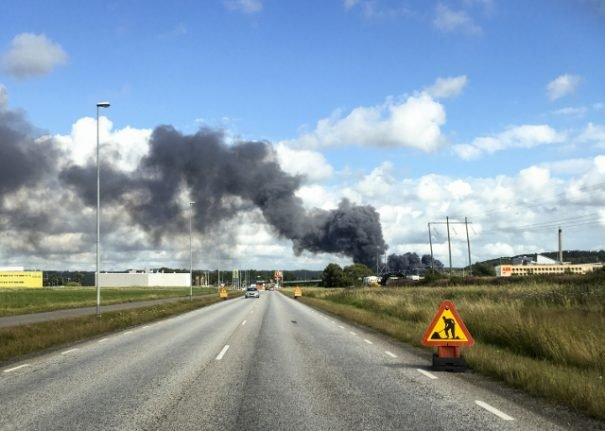 Police analysis facility destroyed in suspected Gothenburg arson attack