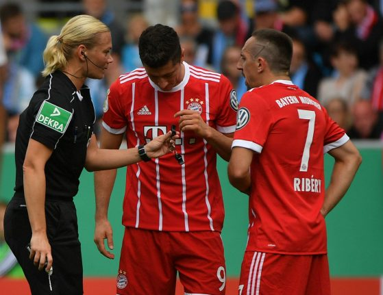 Germany's first top-flight female ref amped to kick off first league match