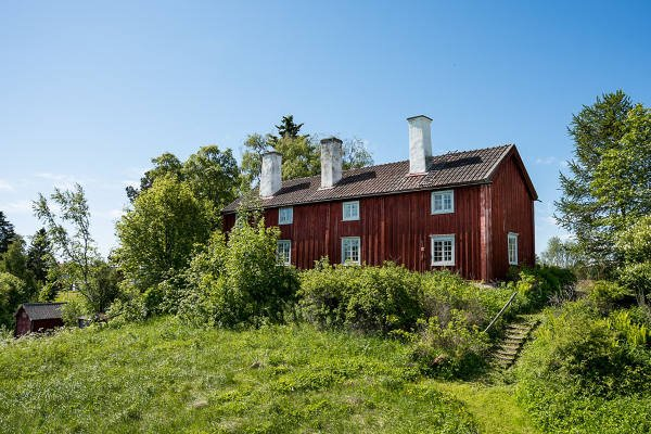 In Pictures: This Swedish farmhouse has been standing since 1738