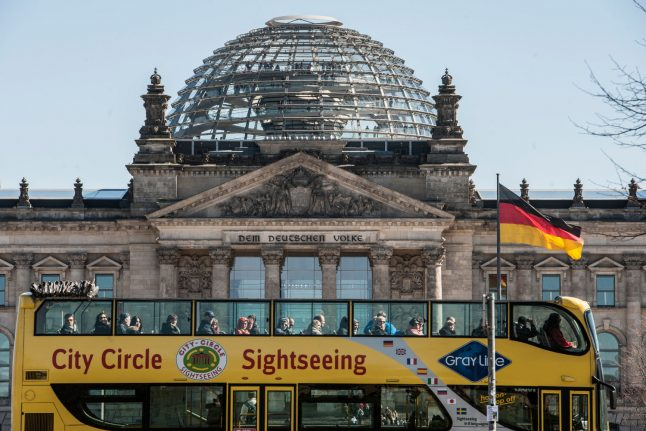 Chinese tourists detained in Berlin for making Hitler salute