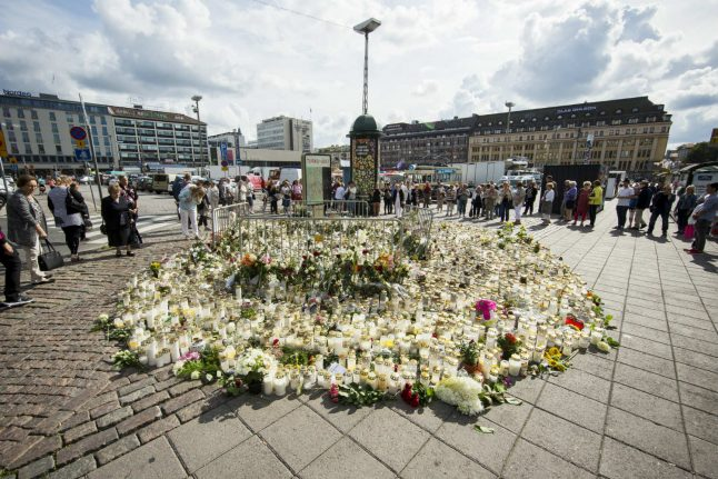 Suspect in Finnish terror attack lived in Germany in late 2015