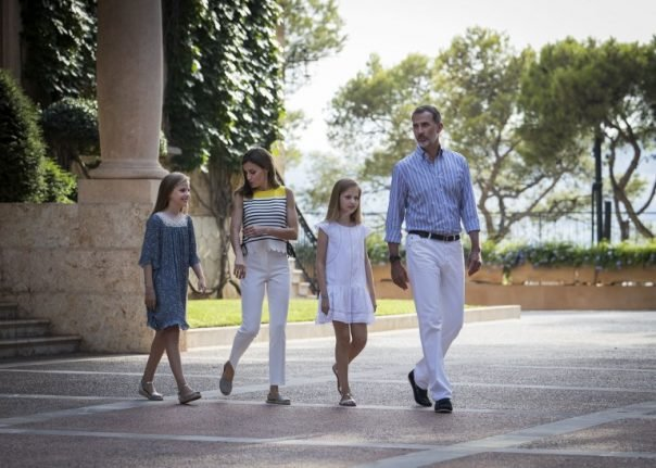 In pics: Spanish royal family on holiday in Mallorca