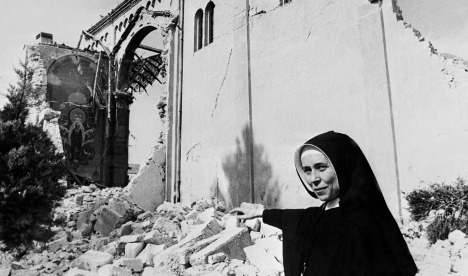A long history of destructive earthquakes in Italy
