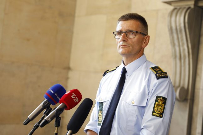 Copenhagen Police set up second stop-and-search zone