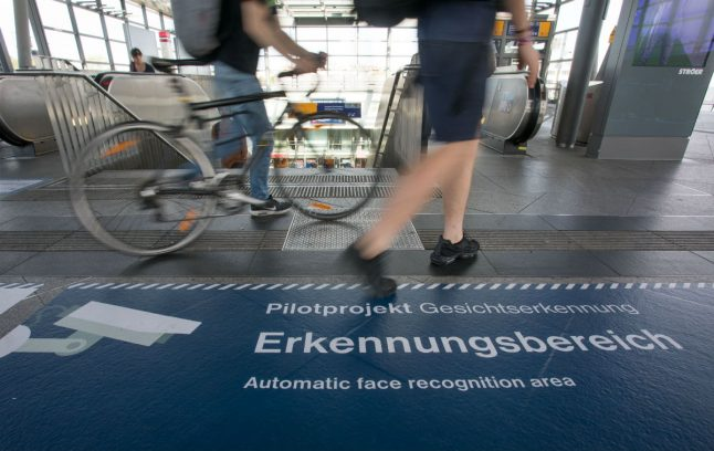 Facial recognition cameras at Berlin station are tricking volunteers, activists claim
