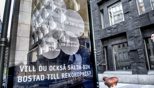 Stockholm house prices double in a decade