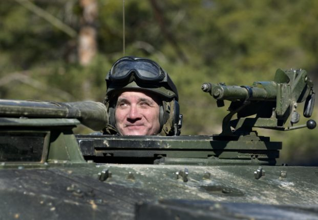 Sweden's government and opposition parties agree new defence deal worth billions