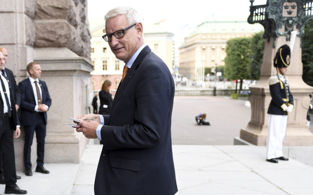 Former Swedish PM Carl Bildt most popular choice as new Moderate leader: poll