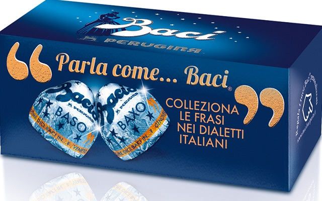 Iconic 'Baci' chocolates celebrate romantic proverbs from the Italian dialects