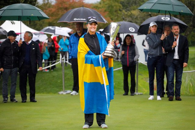 'I grew up in Sweden, I'm used to playing in bad weather': Nordqvist beats hail and fever to win second major