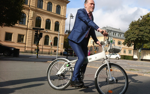 Stockholm to get high-tech new electric bike-sharing scheme