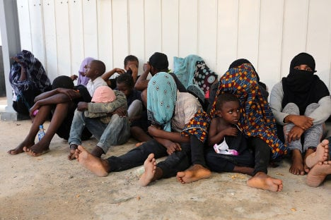 Italy sketches idea to resettle 1,000 migrants stranded in Libya