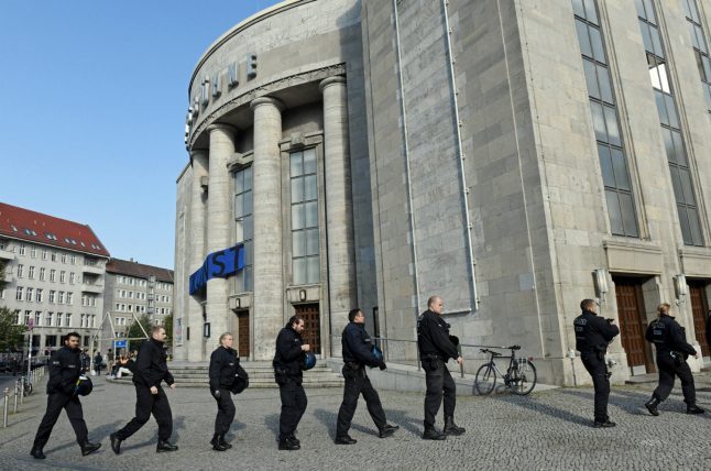 Police end occupation of iconic left-wing Berlin theatre