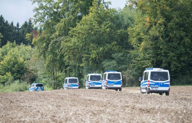Police in southern Germany catch suspected murderer after five-day manhunt