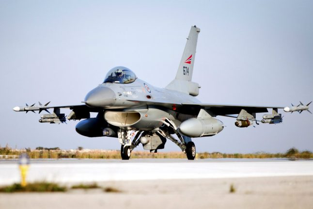Norwegian F16 almost shot three people during exercise: report