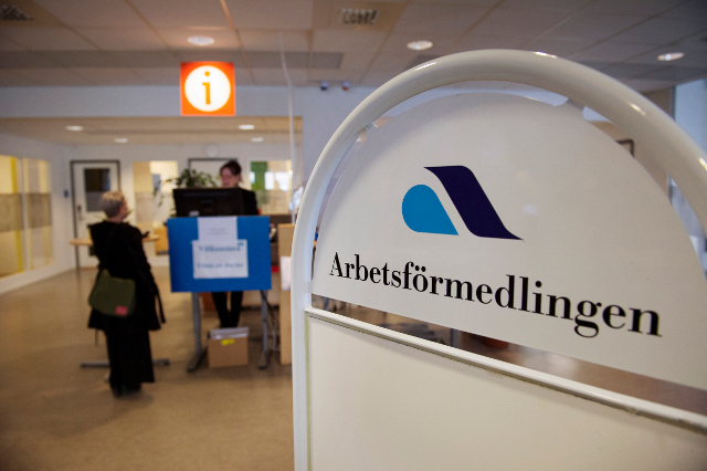 Record low unemployment… at least among native Swedes