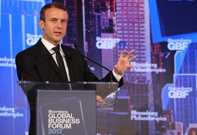 'Hero to the rich': Macron cuts taxes for France's most wealthy in first budget