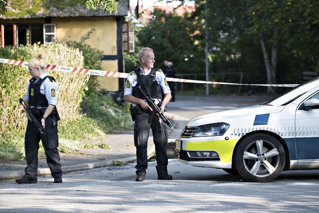 Armed military to replace cops on Danish streets and border
