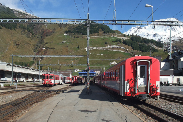 At least 30 injured in accident at Andermatt train station