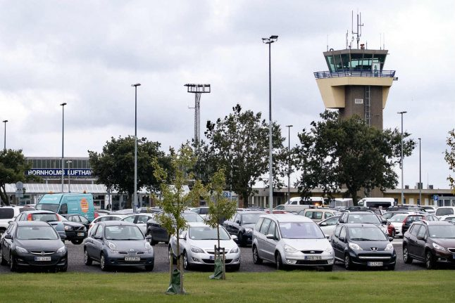 Bornholm airport reopened after suspicious package turns out to be fine china