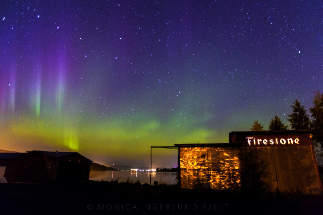 In pictures: Northern Lights dance across Swedish sky