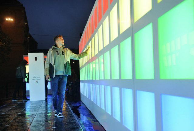 VIDEO: The Local tries out world's 'largest ever' energy harvesting walkway at Berlin festival