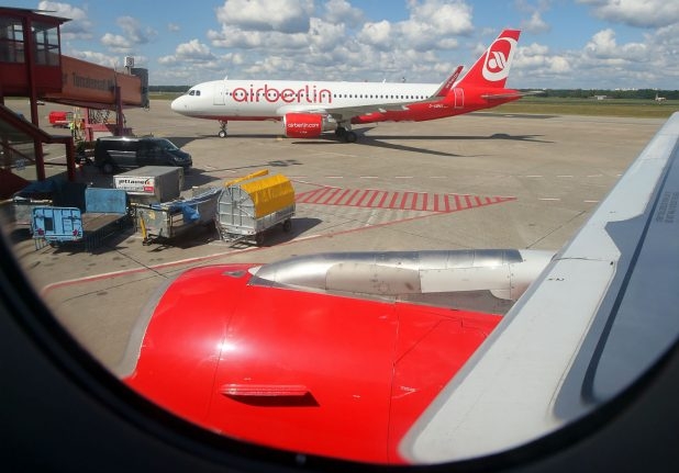 Air Berlin to ground all flights by end of October