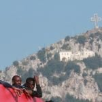 Sharp drop in number of migrants entering Italy by sea