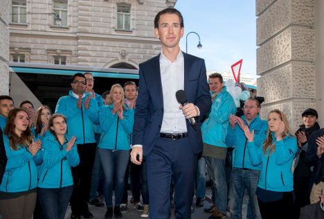 Austria set to elect youngest EU leader in right-wing push