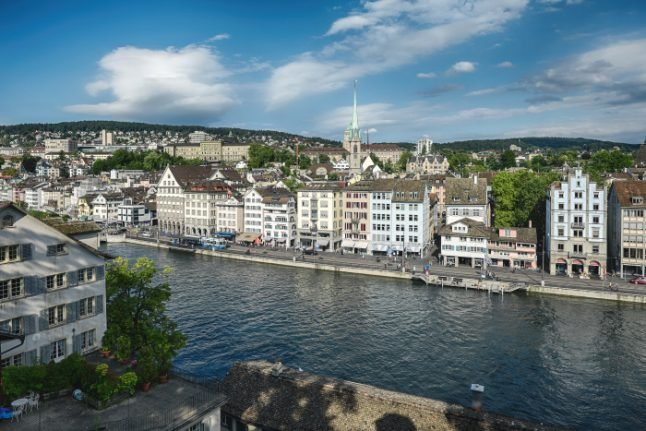 Zurich named tenth safest city in the world