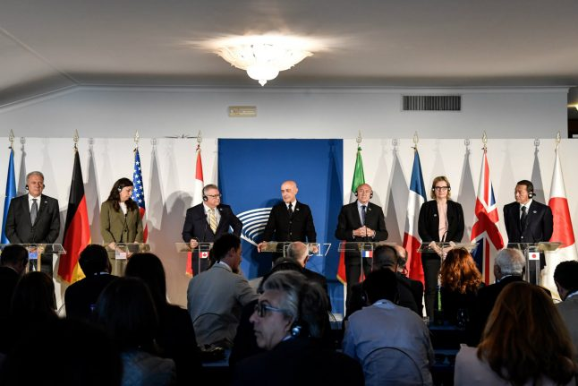 G7, tech giants agree on plan to block jihadist content online at Italy meeting