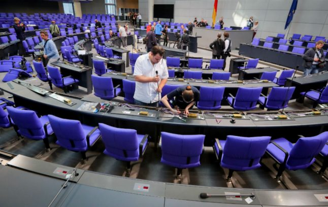 AfD debuts at first sitting in Bundestag, possible battles ahead with far-right nominee
