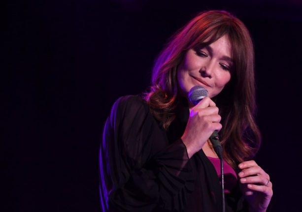 Why Carla Bruni swapped Italian for English