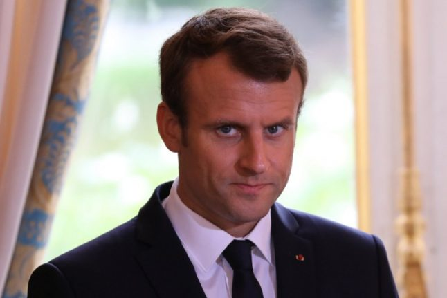 International investors 'blown away' by Macron's vision for France