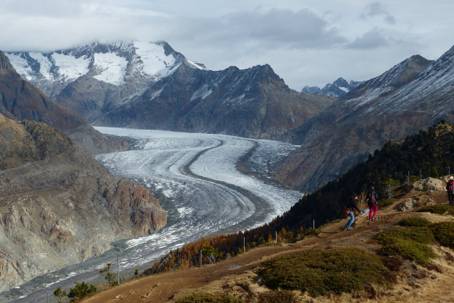Swiss glaciers suffered 'extreme' melting in the past year