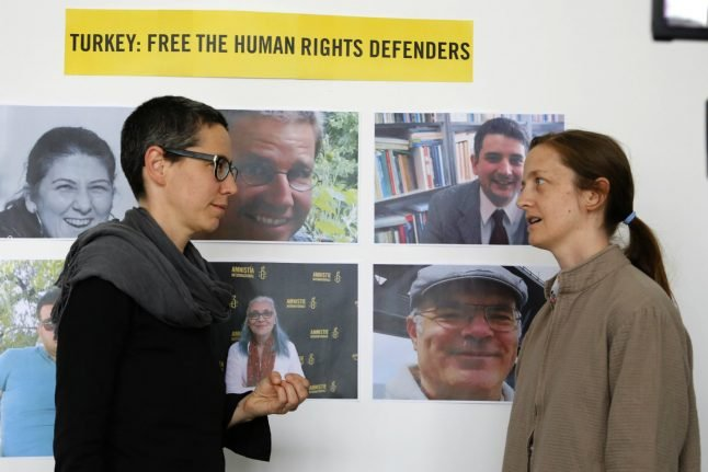 Turkish prosecutors demand up to 15 years jail for Amnesty activists including Swede, German