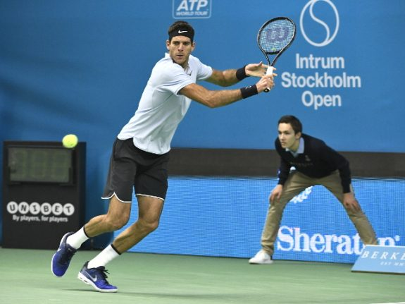 Del Potro defends Stockholm Open title for 20th career crown