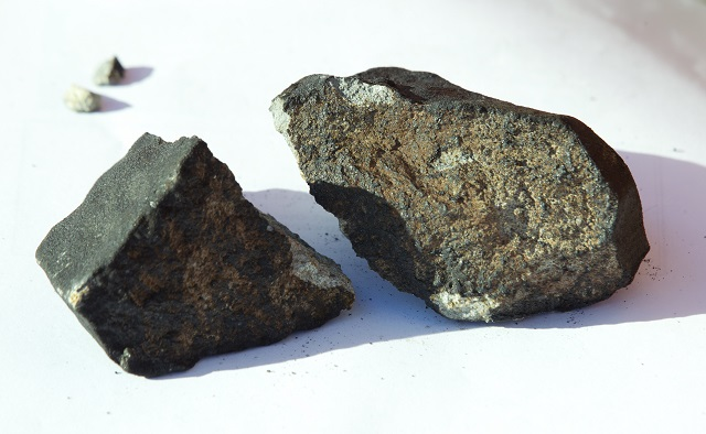 A 4.5 billion-year-old Swedish meteorite is going up for auction