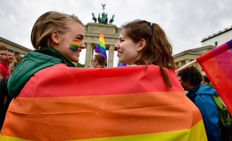 Germany celebrates first gay marriages