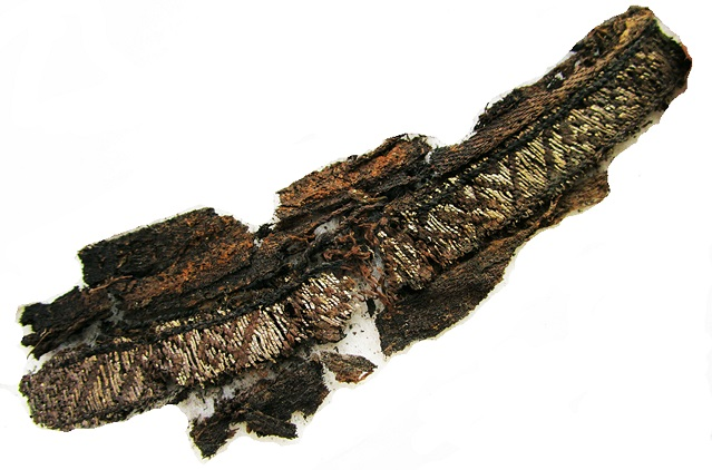 Why these Viking burial clothes had inscriptions to Allah and Ali