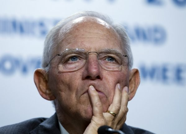 Schäuble admits he would've dreaded imposing Greek austerity on Germany