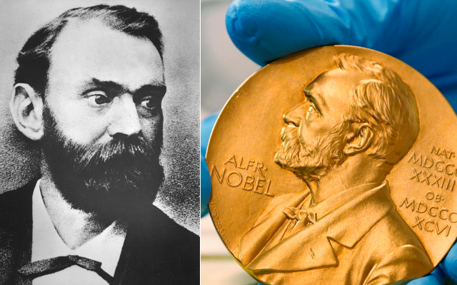 Who was Alfred Nobel, the Swedish scientist behind the Nobel Prize?
