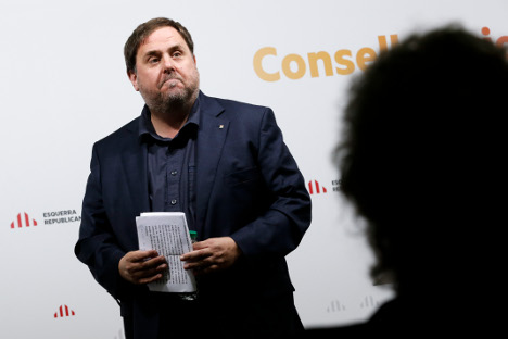 Catalan talks with Spain 'would aim at independence'